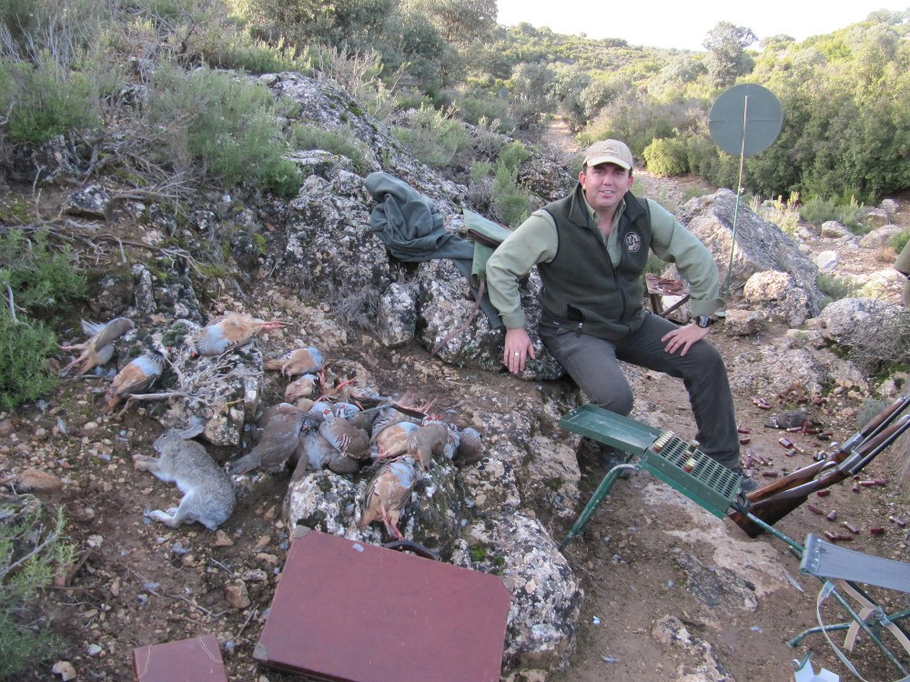 partridge hunting spain